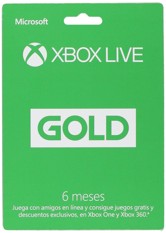 Xbox Live Gold Membresia 12 Meses Amazon Com Mx Videojuegos