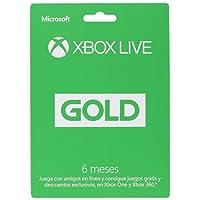 XBox Live Gold Membresía 6 Meses - Standard Edition