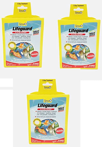 Quality In Tetra Lifeguard Tabs 32 Tablets All In One Treatment Halo Shield Remedy Freeship Excellent