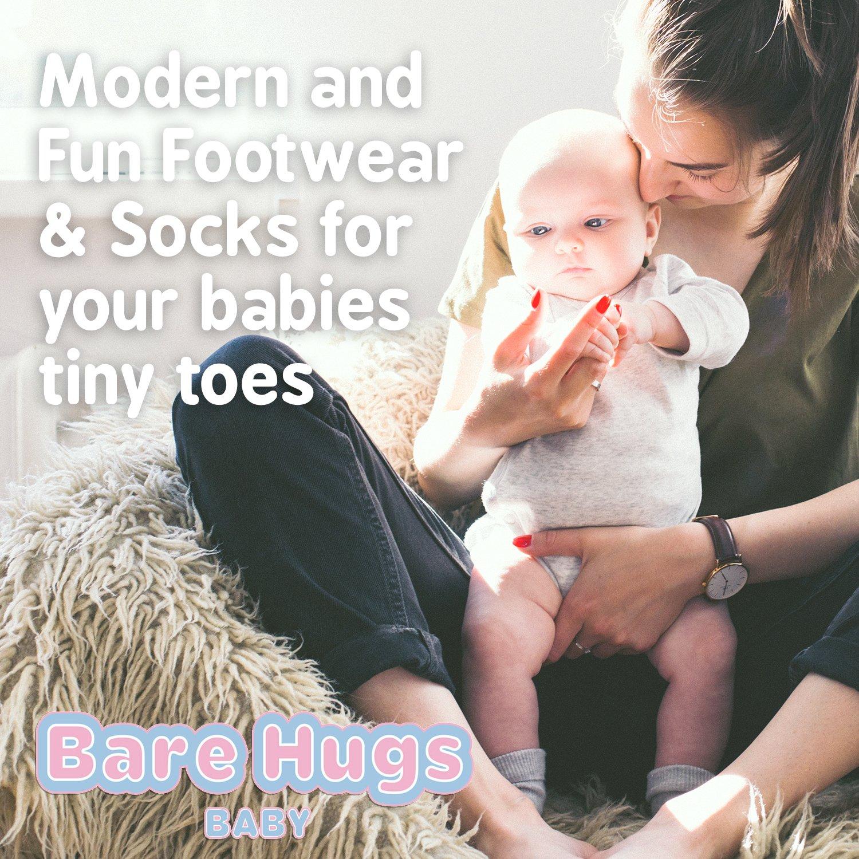 BARE HUGS Toddlers and Infant Basics 1//2 Cushion 10Pk