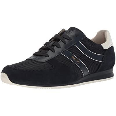 Hugo Boss BOSS Orange Men's Orlando Low Profile Sneaker in Nylon Construction Shoe: Shoes