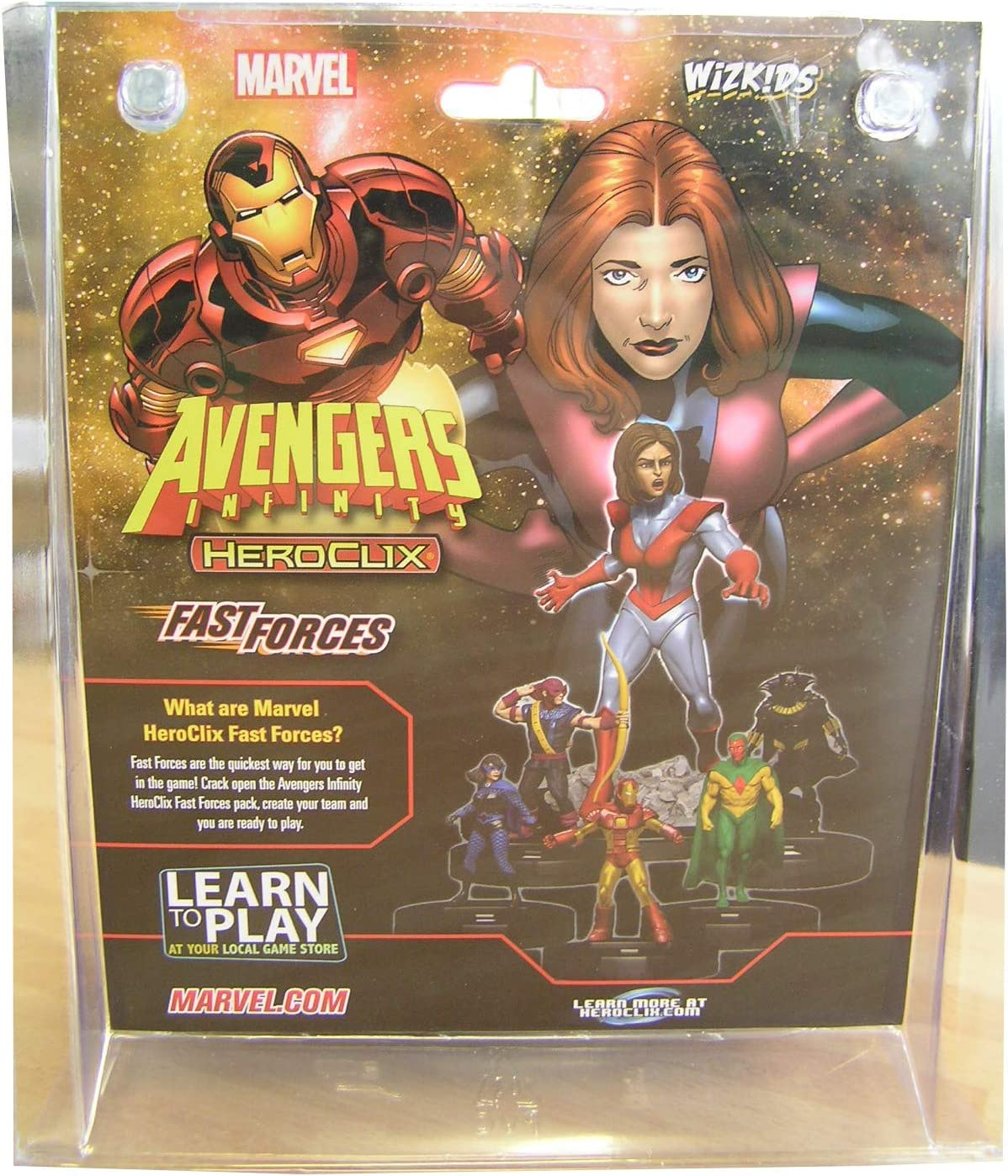 Avengers Infinity Fast Forces Wizkids WZK73150 Marvel Heroclix