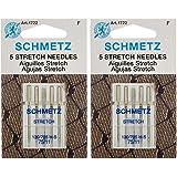 Stretch Machine Needles-Size 11/75 5/Pkg (2 packs)