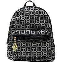 Tommy Hilfiger Women's Small Backpack Monogram Logo TH Denim