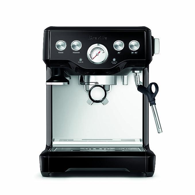 Breville infusor de la máquina de espresso Black Sesame: Amazon.es: Hogar