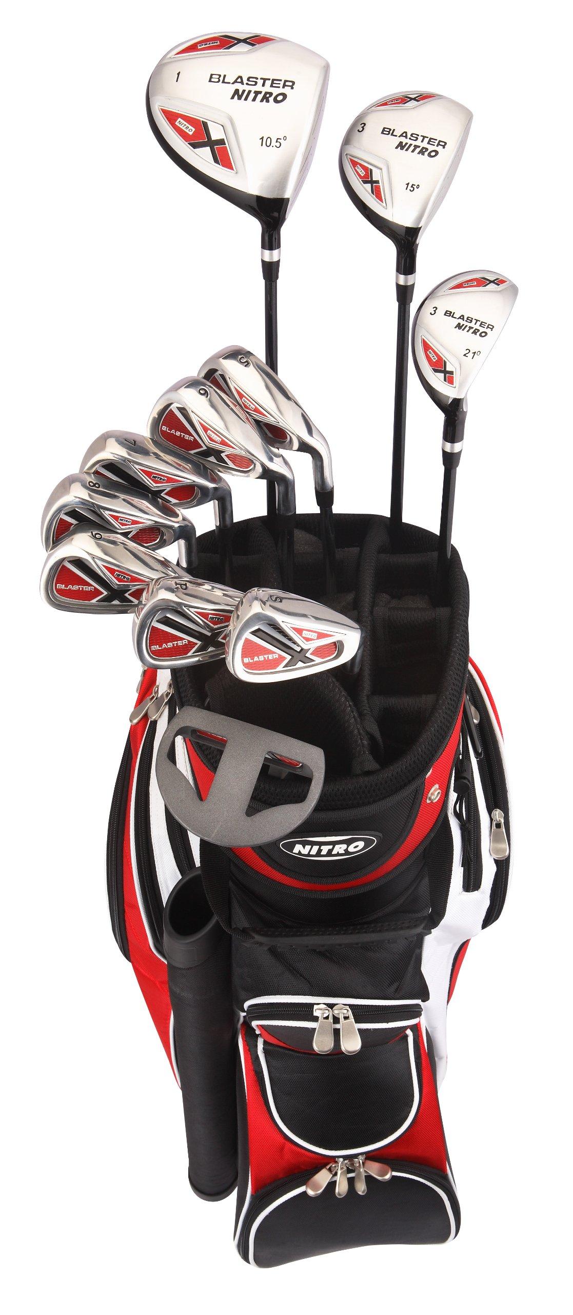 Nitro Men's Blaster Golf Set (15-Piece), Left Hand