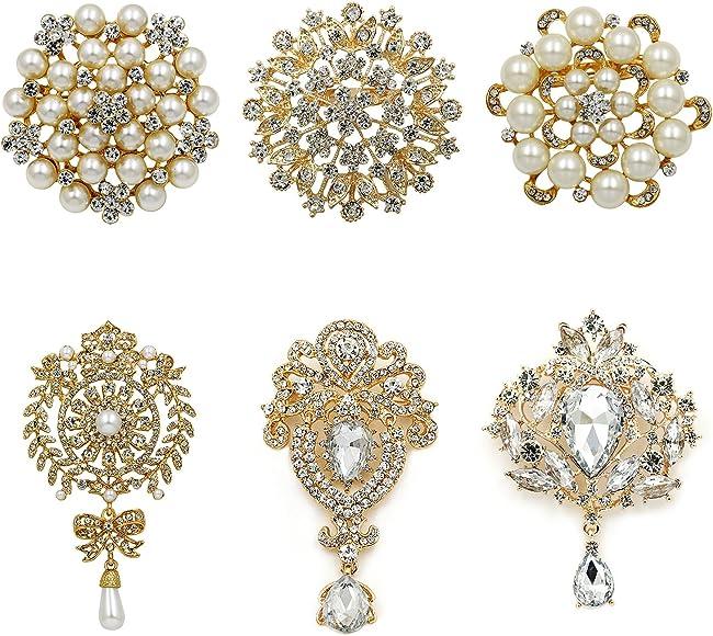 Multicolor Extra large Rhinestone Embellishment Brooch pin Brooch Brooch pin Rhinestone Brooch wedding Brooch Bouquet Diy Supply