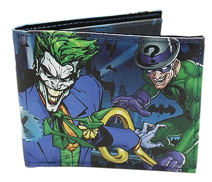 Amazon.com: DC Comics Villanos cartera: Clothing