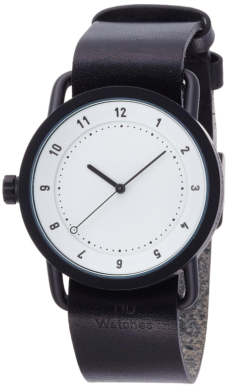 [ティッド ウォッチ]TID watch レザー 引き通し No.1 TID01-WH/BK 【正規輸入品】 B00ZZDPQ88