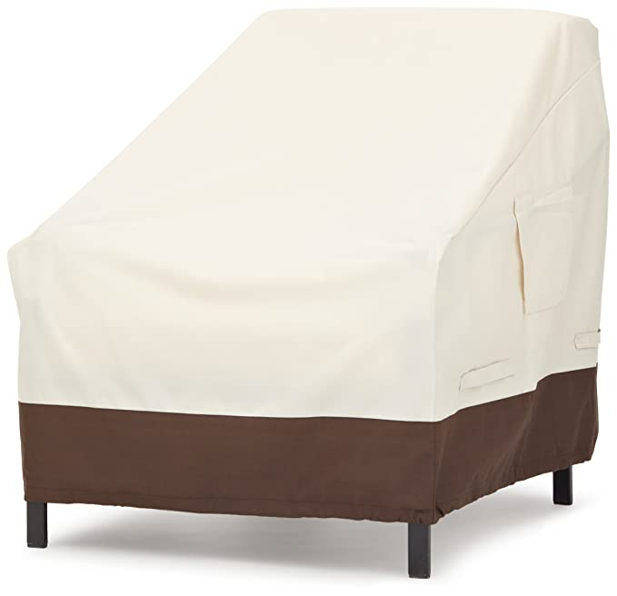 AmazonBasics Lounge Deep-Seat Outdoor Patio Furniture Cover – The Best Patio Chair Cover