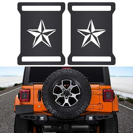 Amazon.com: Sunluway - Cubiertas de luces traseras para Jeep ...