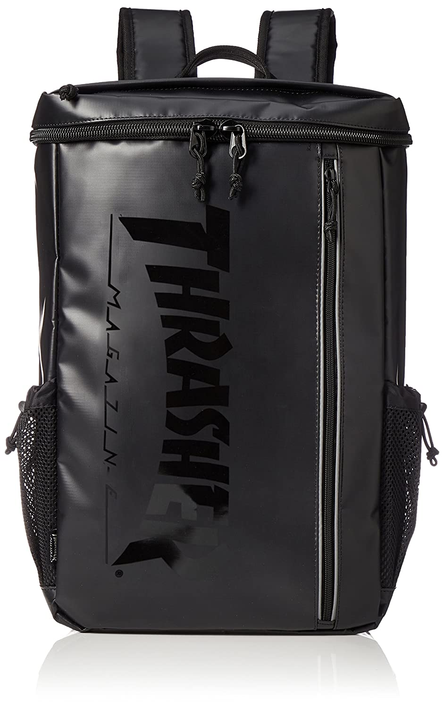 [スラッシャー] リュックサック トップオープンバッグ THRTPシリーズ THRTP505 B07B32NHG5 ブラック/ブラック ブラック/ブラック