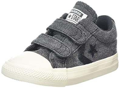 Converse Unisex Kids  Lifestyle Star Player Ev 2v Ox Canvas Fitness Shoes 2c3e64d3d