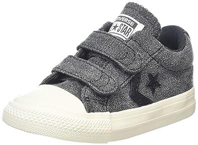 05c52fb72f7 Converse Unisex Kids  Lifestyle Star Player Ev 2v Ox Canvas Fitness Shoes