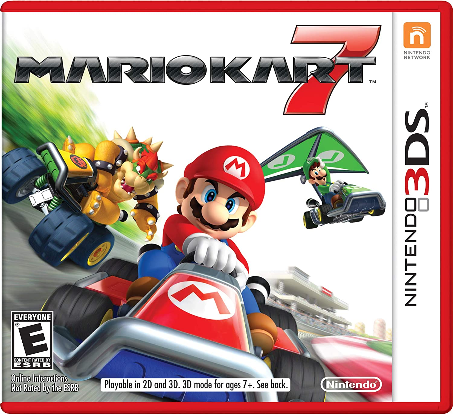 Amazon Com Mario Kart 7 Nintendo Of America Video Games