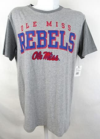 Amazon Com 3 Four Ole Miss Rebels Mens Size Large Screen Printed