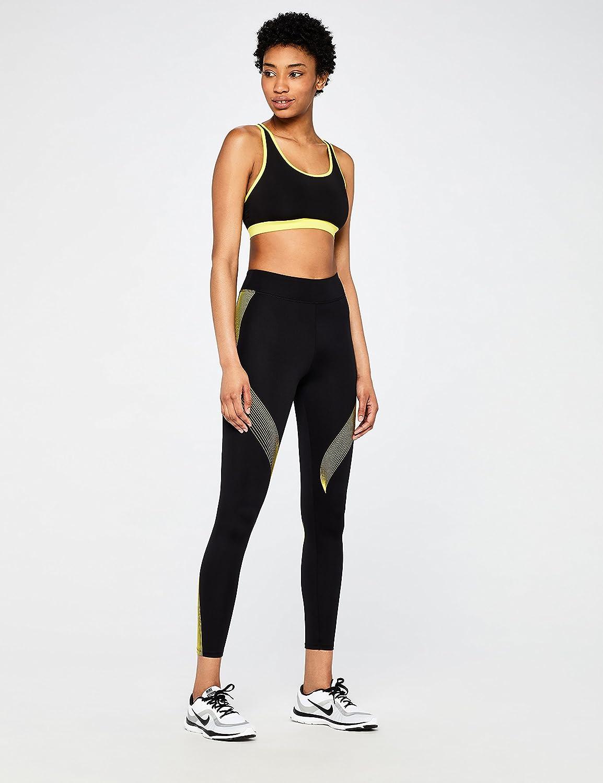 b06c814c96 AURIQUE Women's Low Impact Strappy Yoga Sports Bra: Amazon.co.uk: Clothing