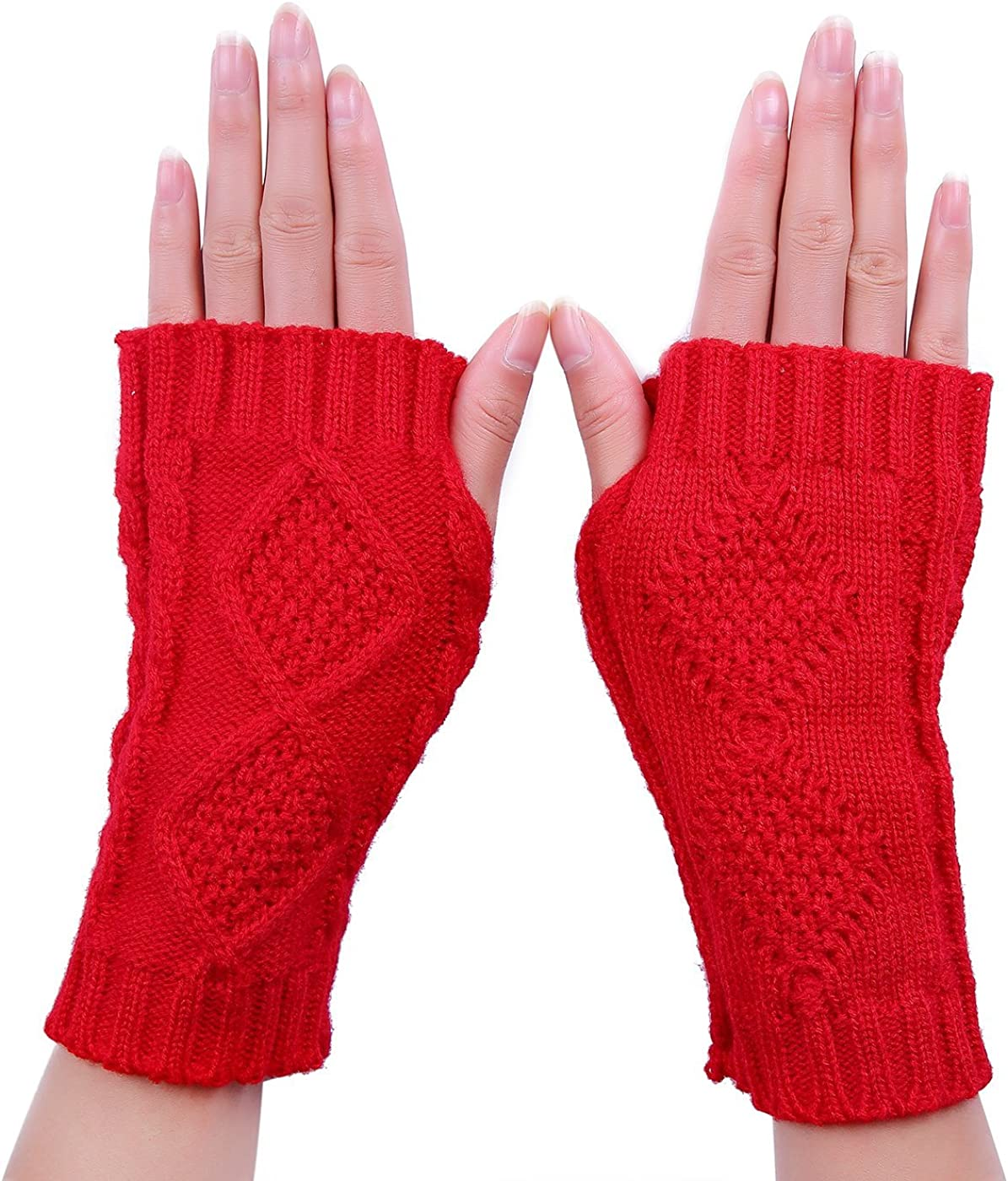 HDE Women's Fingerless...
