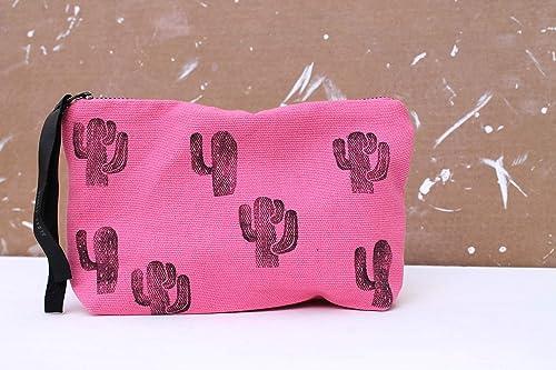 Estuche Cactus Rosa: Amazon.es: Handmade