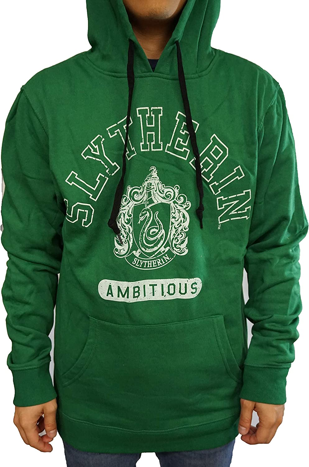 Bioworld Harry Potter Mens Hoodie Green Slytherin