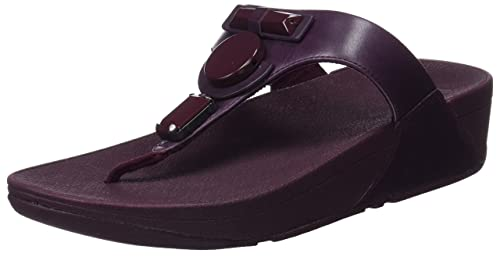 5a19fa5e40f7a3 Fitflop Women s GLAMORITZ Toe-Thong Sandals Platform
