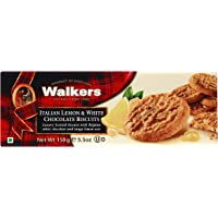 Walkers Italian Lemon and White Chocolate Biscuits, 150 Gram