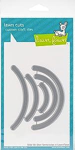 Lawn Fawn Lf1613 Lawn Cuts Custom Craft Die -Slide On Over Semi-Circles