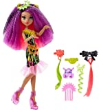 Monster High Monster High-DVH70 Barbie Muñeca clawdeen, Electro-Peinados Mattel DVH70