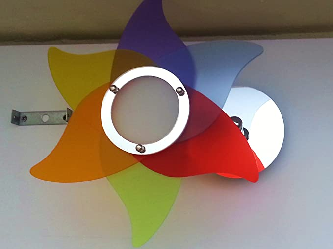 Lampadario fiore da parete vari colori applique moderno in