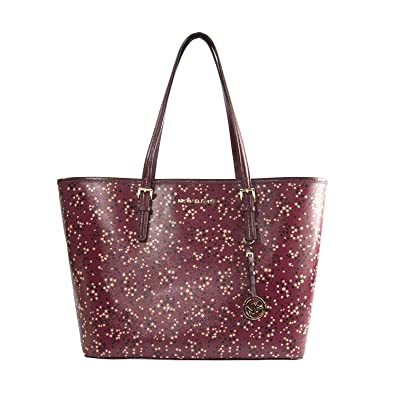 c1a0803bb324 Michael Kors Illustrations Mulberry Stars Limited Edition Large Carryall  Tote Bag