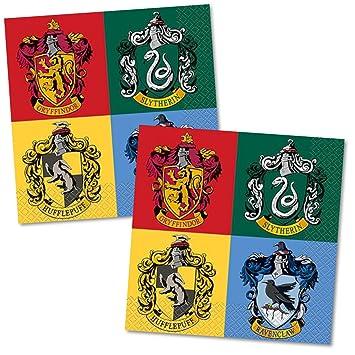 Amazon.com: Harry Potter casas de Hogwarts almuerzo ...
