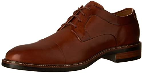 Cole Haan Men's Warren Cap Toe Oxford Oxfords, British Tan, 8.5 M US Sizing