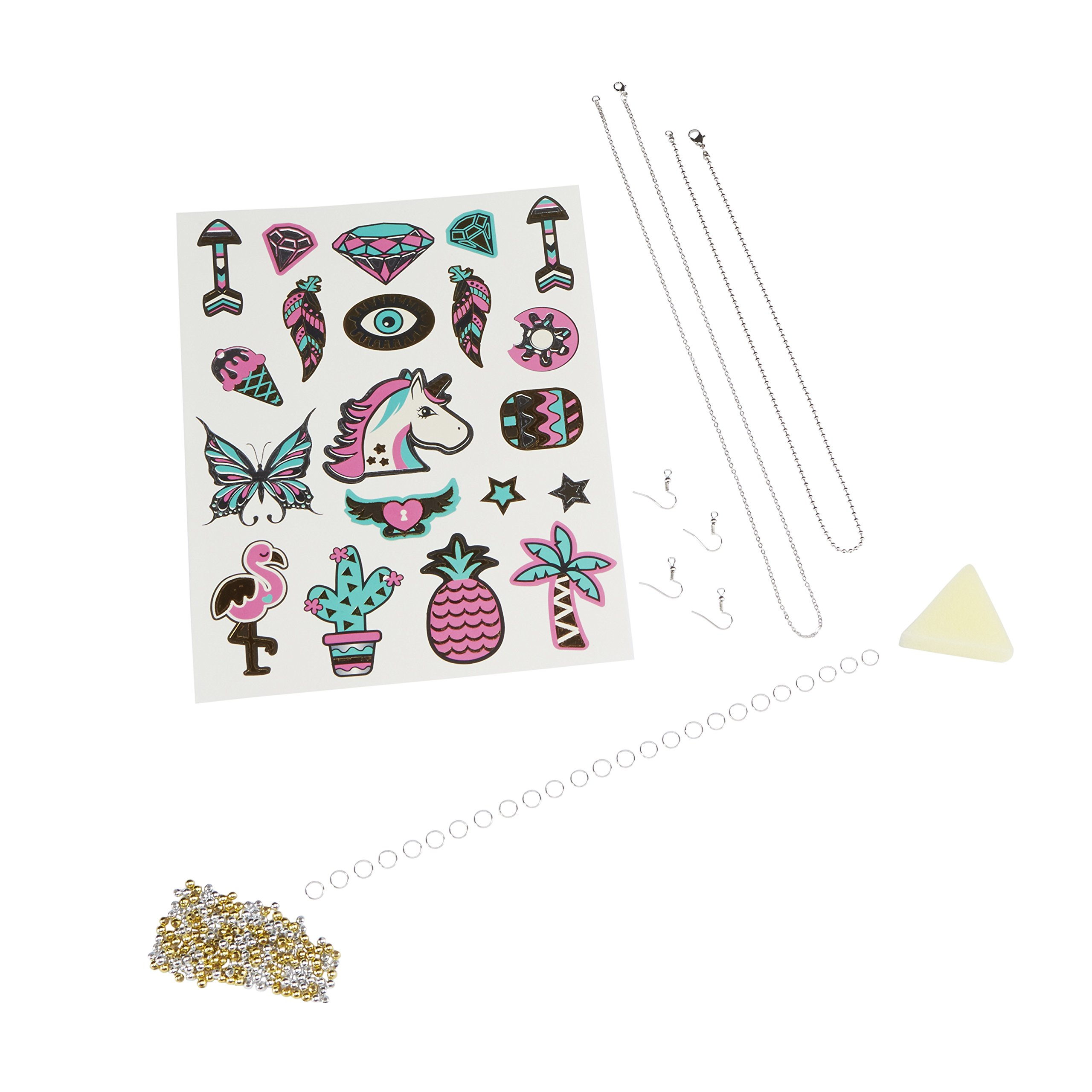 Shrinky Dinks Cool Foil Jewelry Kids Art and Craft Activity