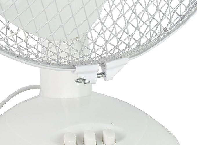 Ventilador, giratorio/oscilante, Negro: Amazon.es: Bricolaje y ...