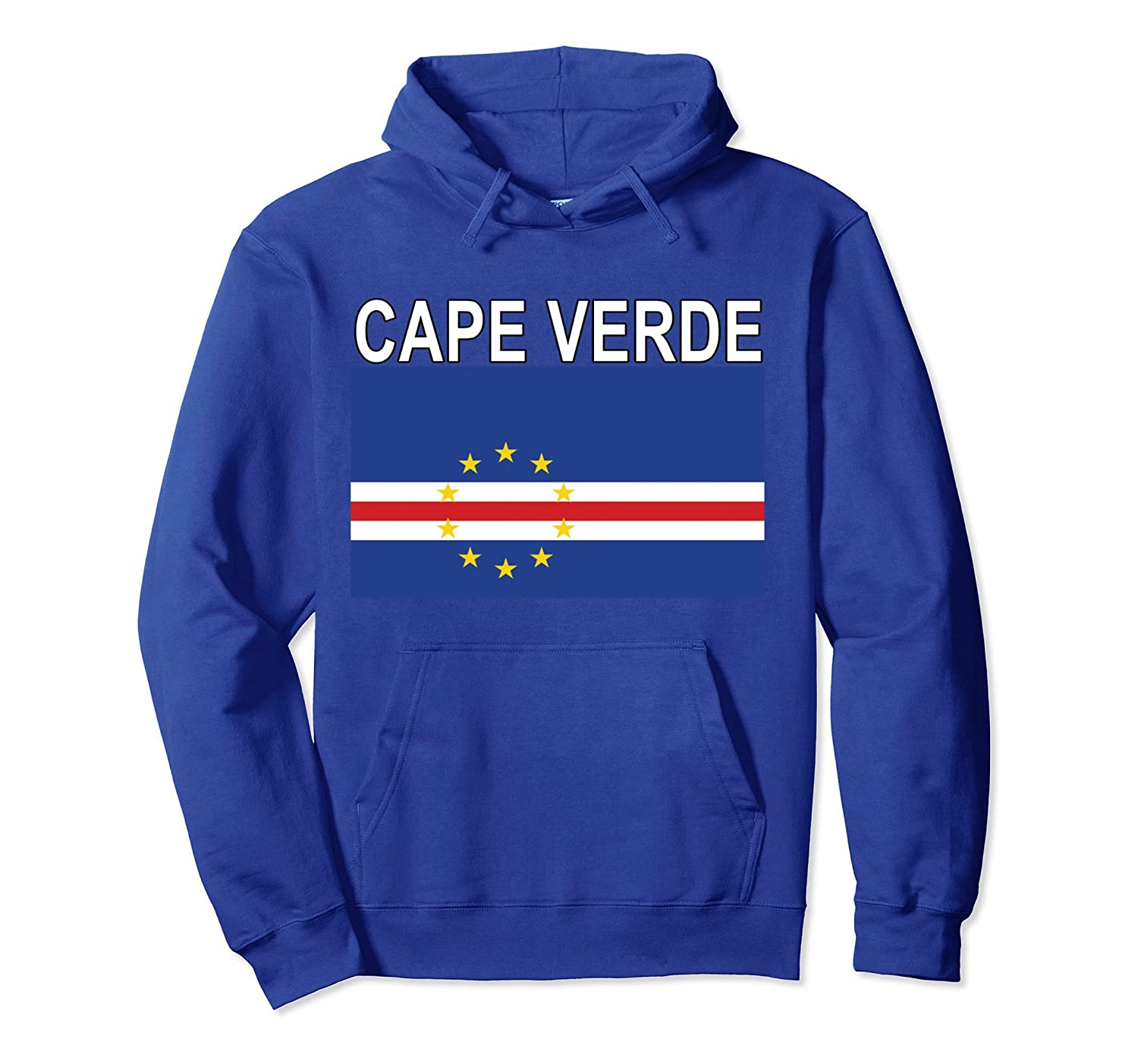 Cape Verde Flag National Culture Pullover Hoodie-TH