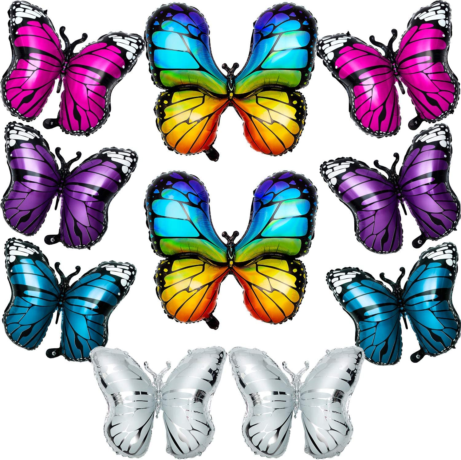 Butterfly Animal Monarch Foil Balloon Helium or Air Fill