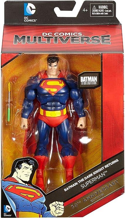 "DC Comics Multiverse Batman Dark Knight Returns Blue 6/"" Loose Action Figure"