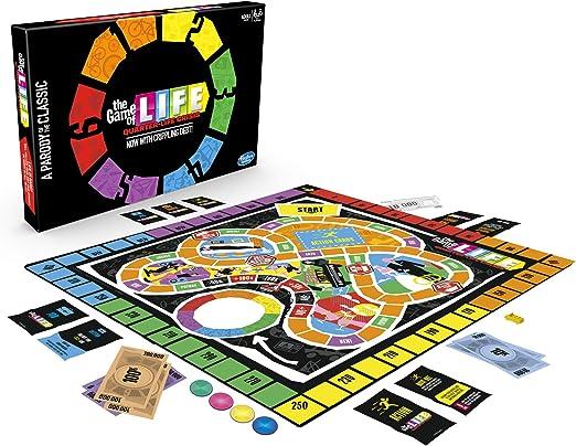 Hasbro Gaming- Juego de Mesa The Game of, Quarter Life Crisis, Color Nailon/a. (E4979102): Amazon.es: Juguetes y juegos