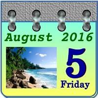 Photo Calendar Sea
