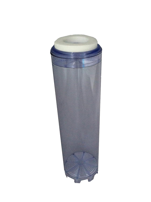 Natures Water Cartouche filtre /à eau rechargeable Sadapte /à tous les logements pour filtres de 25 cm Transparent