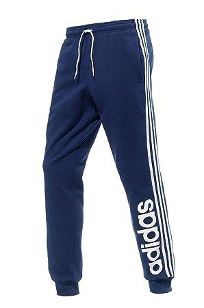 adidas Ess Lin 3S SW CH - Pantalón de chándal para hombre azul ...