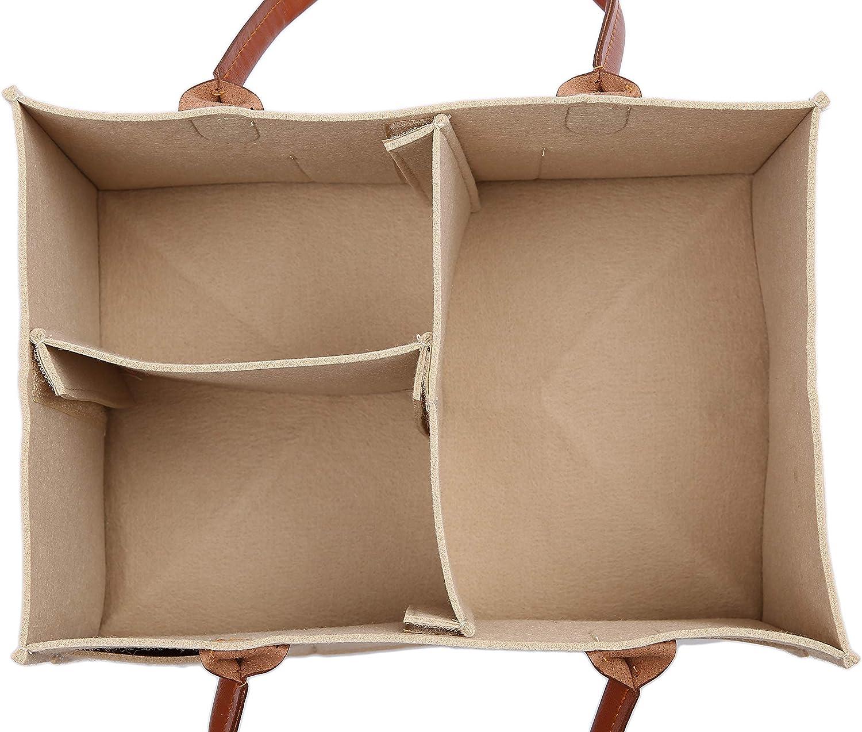 caqui Runsabay 8 secciones Baby Toallitas Bolsa Pa/ñal Caddy Organizador Totalizador con compartimentos intercambiables Guarder/ía Papelera Cesta para mam/á Reci/én nacido Ni/ños Pa/ñales