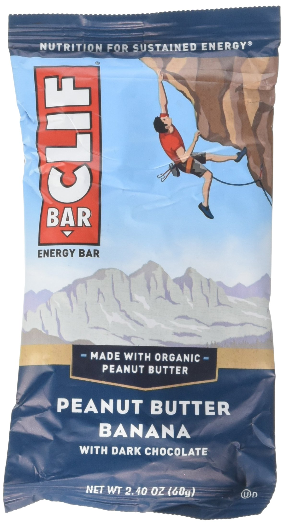Clif Bar Peanut Butter Banana dark chocolate, 2.4 oz