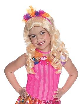 Peluca Alexa Barbie La Puerta Secreta para niña