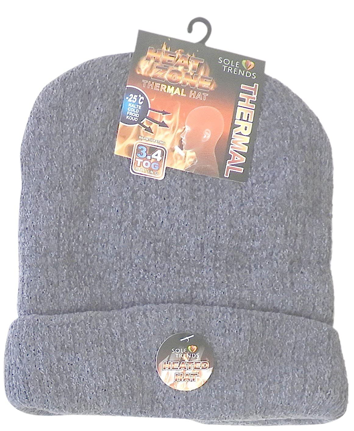 2dfad2b4f DINY Home & Style Unisex Heated Beanie Thermal Sherpa Insulated Lined  Interior to Keep Heat from Escaping Keeping You Warm