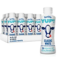 fairlife YUP! Low Fat Ultra-Filtered Milk, Classic White (Packaging May Vary), 14...