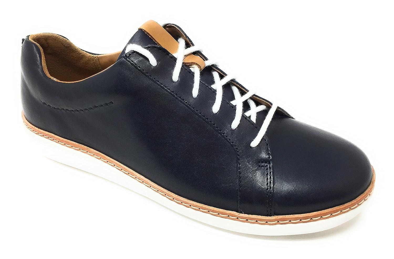 CLARKS Womens Amberlee Rosa Sneaker B076QL5C8R 6.5 D US|Navy