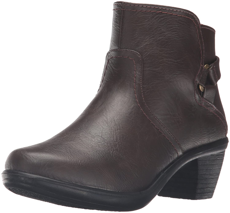 Easy Street Women's Dawnta Ankle Bootie B01JQJJODO 8 W US|Brown