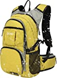 Insulated Hydration Backpack with 2L Water Bladder - Lightweight pack for Running Hiking Riding Camping Cycling Climbing Fits for Men & Women 18L