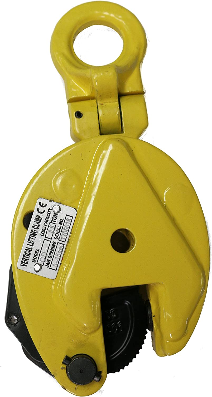 V-Lift Industrial Vertical Plate Lifting Clamp Steel 1,732 pounds WLL .8T: Home Improvement